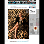 Faith Ann Kiely Corinthium Wing Garnet Ring Ceci Style Magazine Holiday 2013