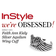 Faith Ann Kiely Wing Aquilum Wing Cuff Bangle InStyle Magazine Were Obsessed